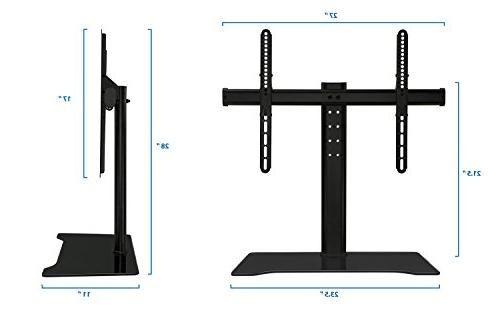 Mount-It Universal TV Stand and Media TV Mount 37,