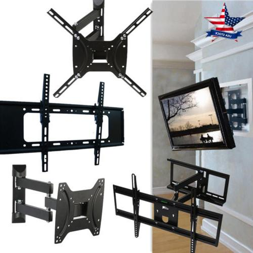 universal tilt swivel articulating corner tv wall
