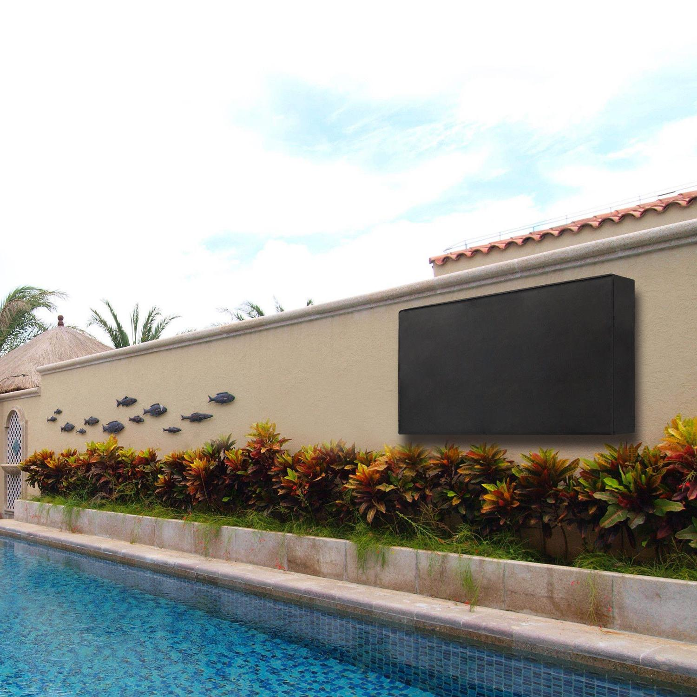 US Outdoor TV Waterproof LCD Black