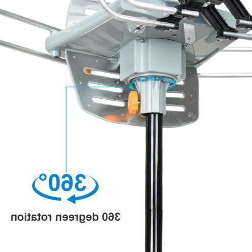 HDTV Antenna TV Antenna Rotation Outdoor With