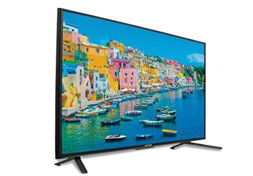 """Sceptre 55"""" 4K Ultra-HDTV HDMI MEMC Metal Black"""