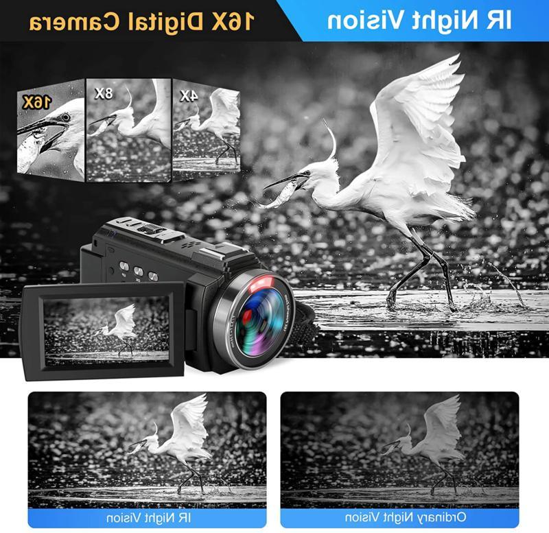 Video 60Fps Hd Digital 3 Inch