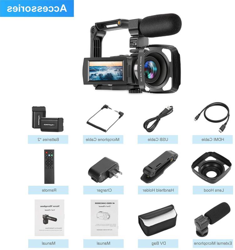 Video 60Fps Kicteck Ultra Digital Camera 3