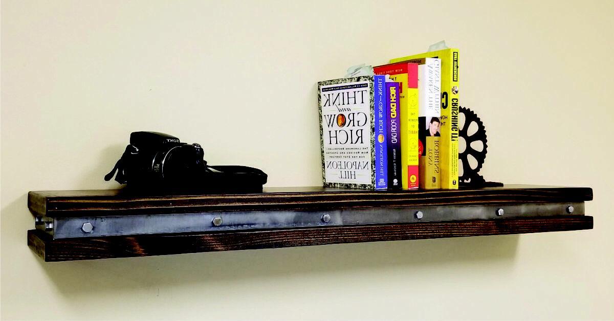 Vintage Industrial - Rustic Shelves - S001