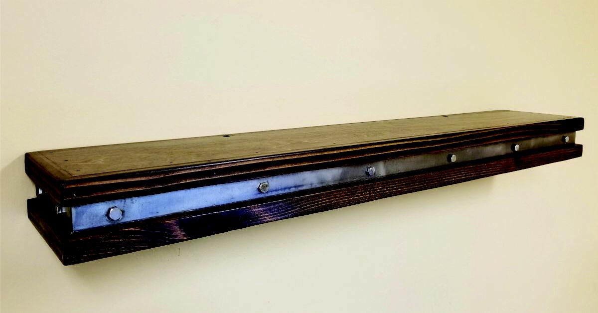 Vintage Shelf - Rustic