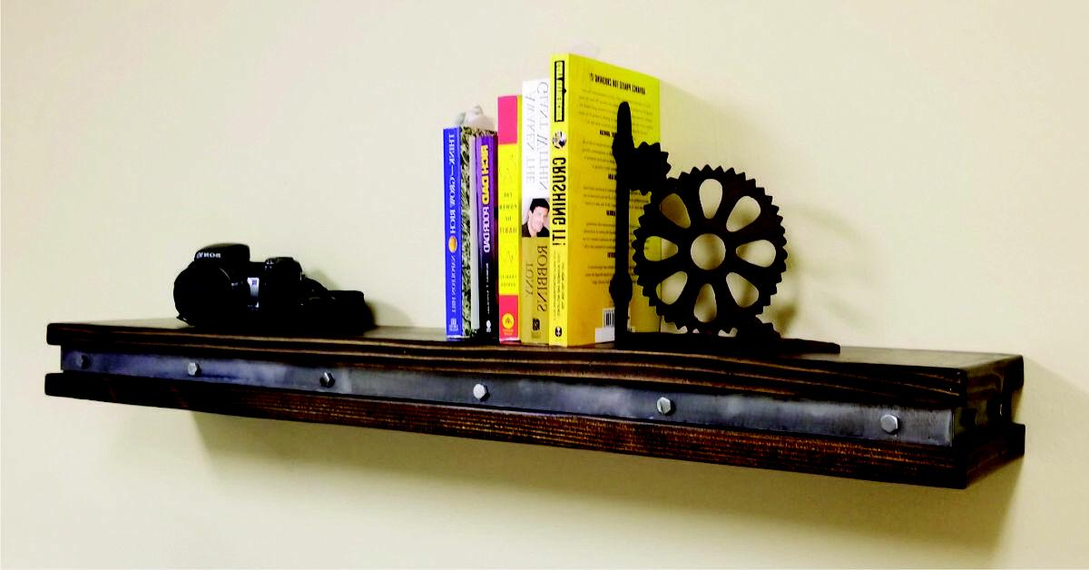 Vintage Floating Shelf - Wall Shelves -