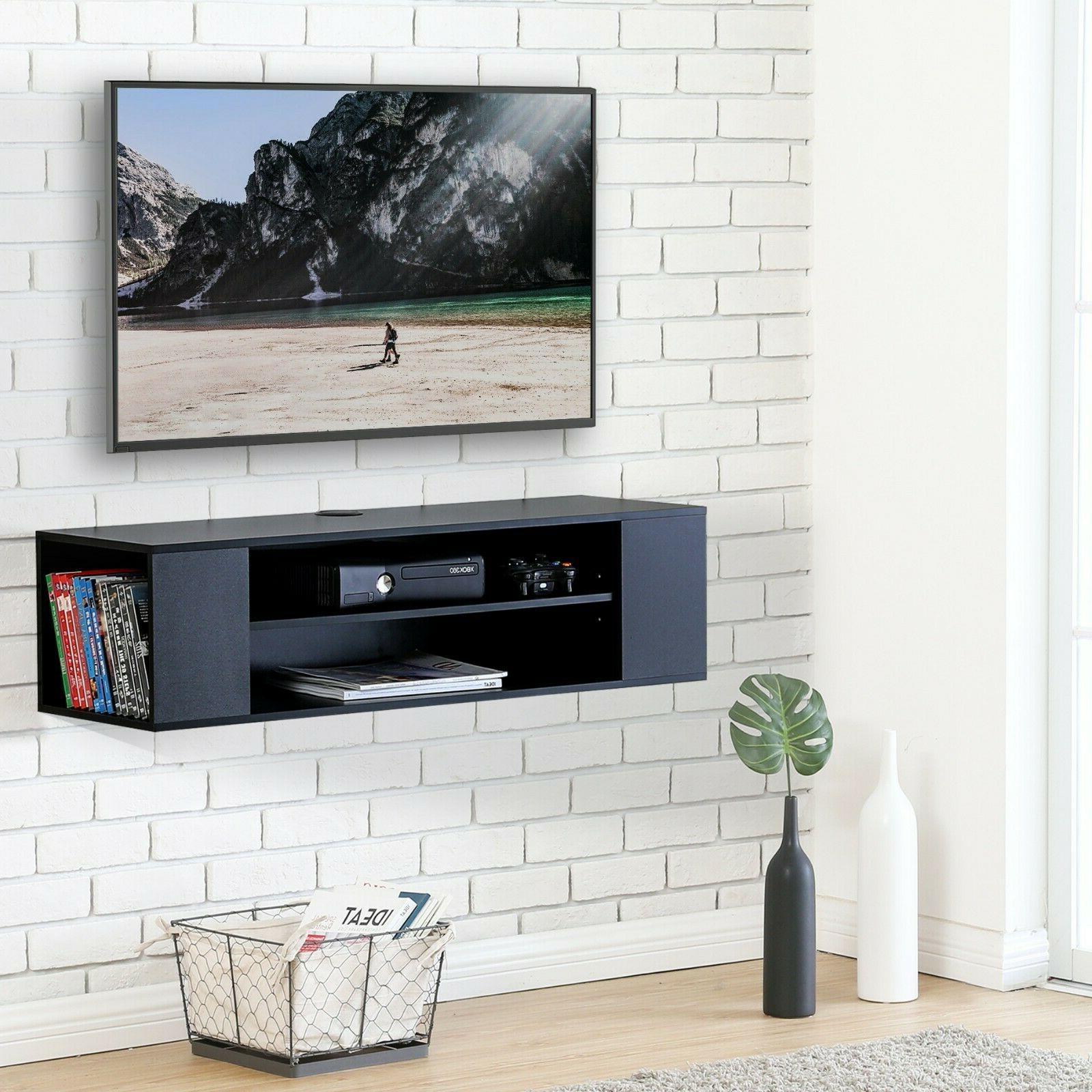 Wall Mount Media TV Stand Component