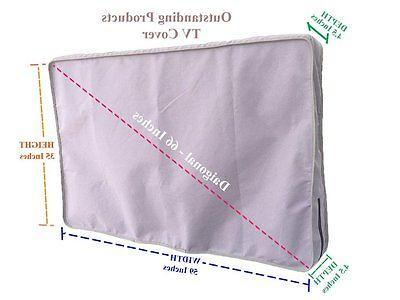 weather resistant lined protective tvcover