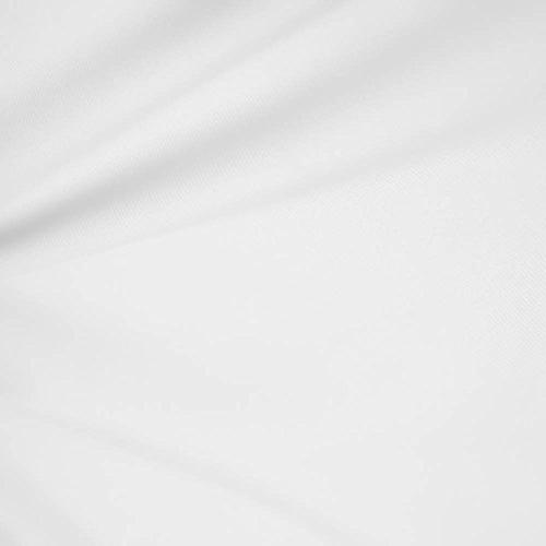 white wide cotton blend broadcloth