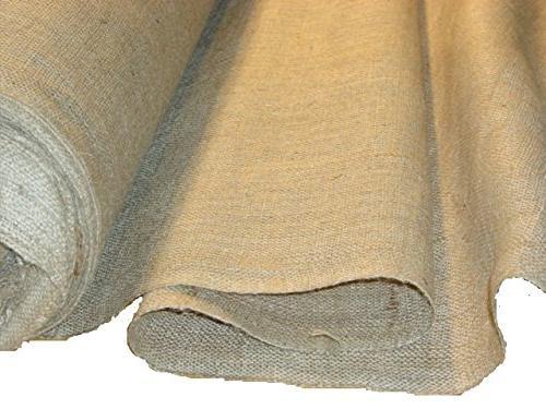 wide burlap roll