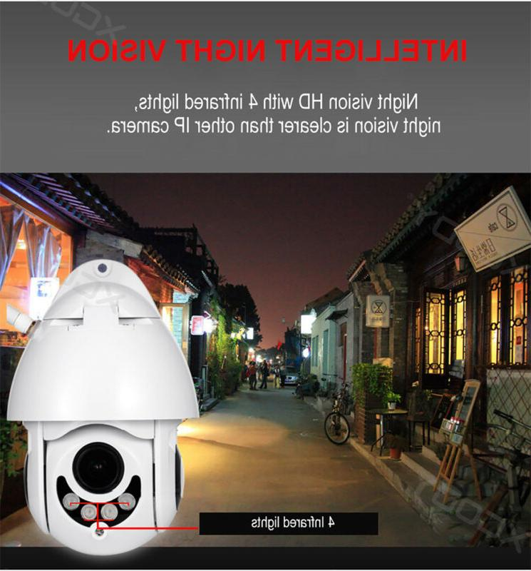 Wireless HD WiFi 5X CCTV Outdoor IP IR US