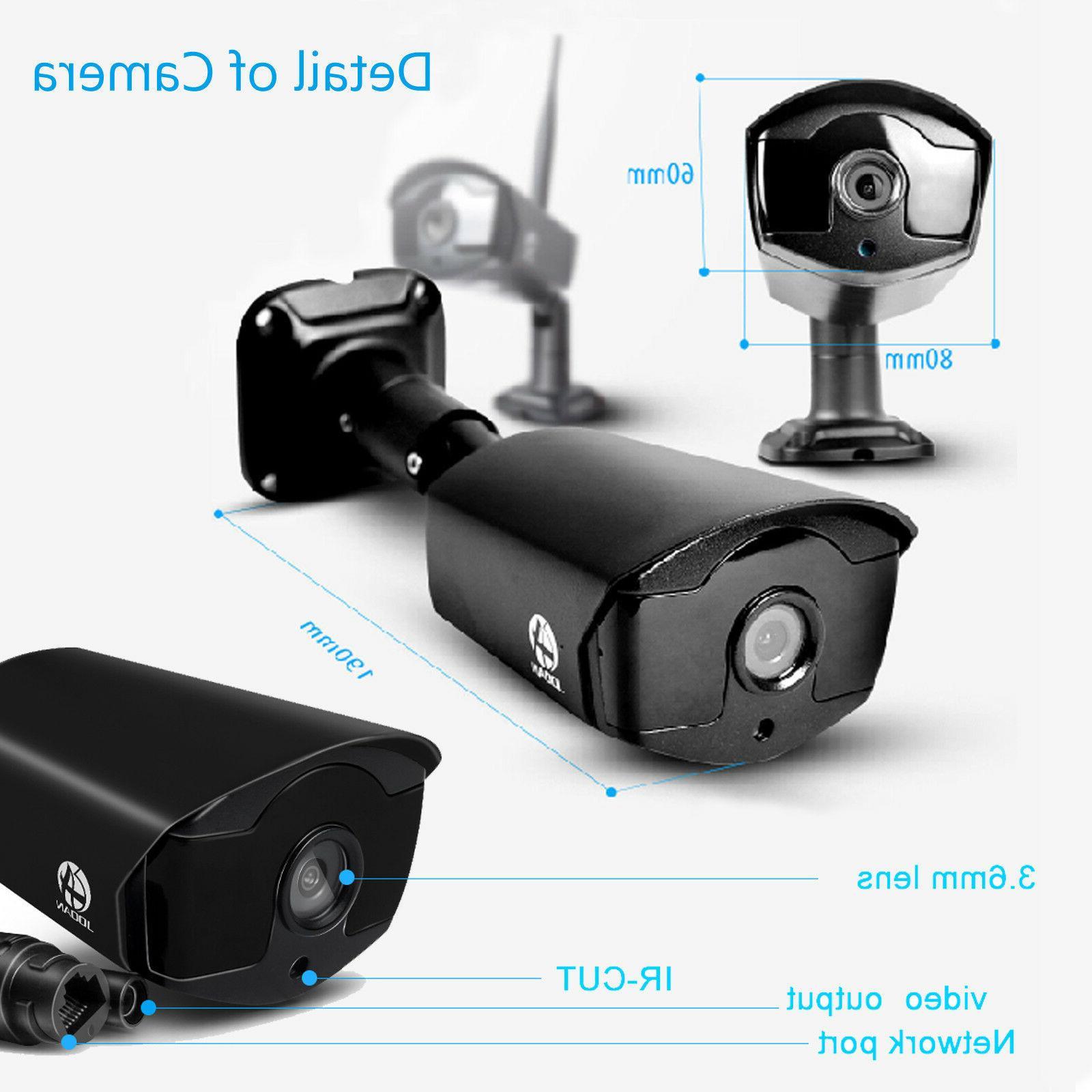 Security Camera Outdoor Camera Kit