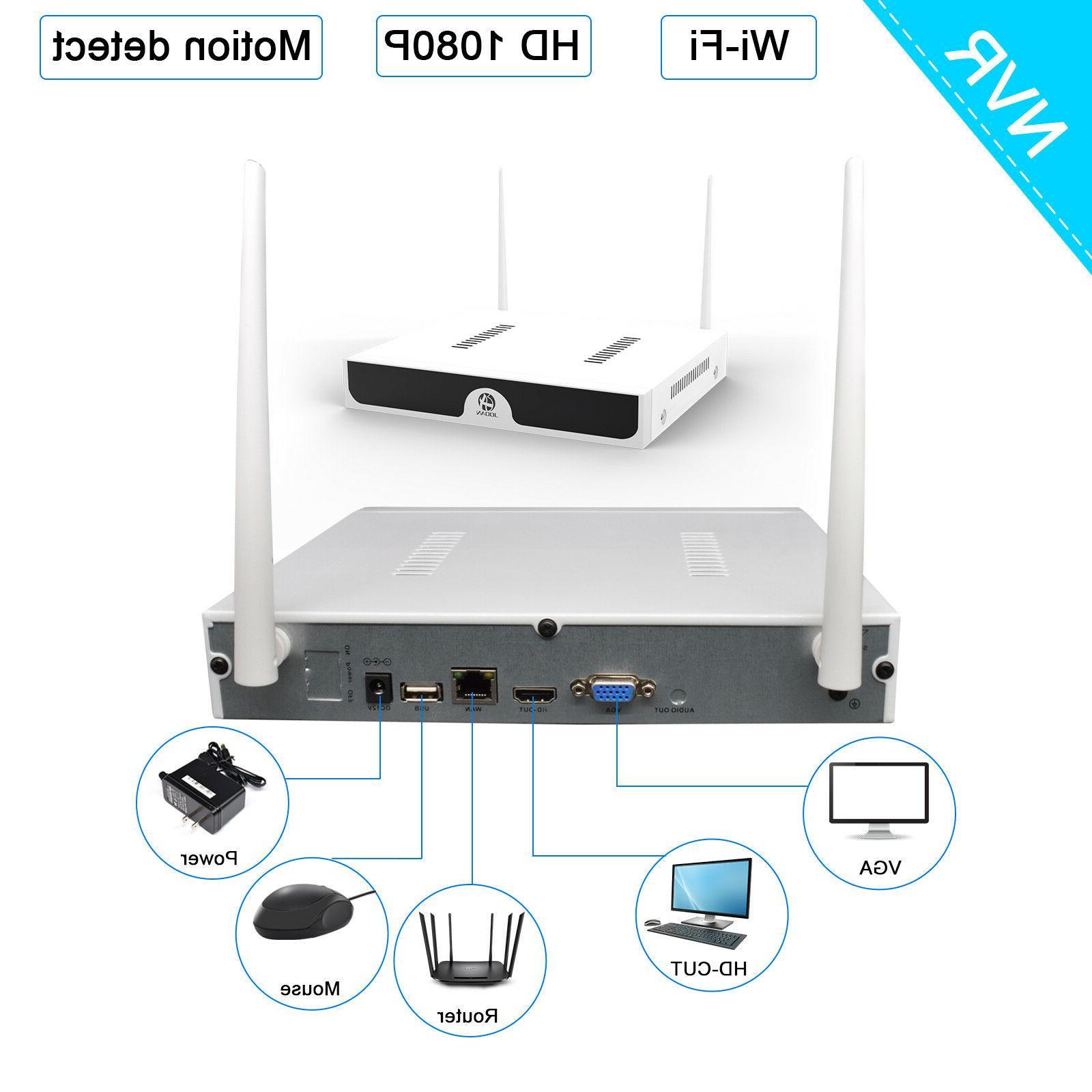 JOOAN WIFI Security Camera Outdoor IP System Kit