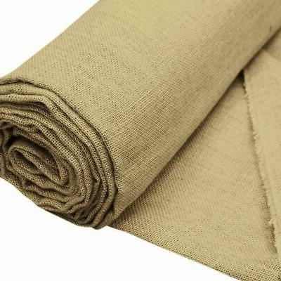 x brown burlap fabric roll