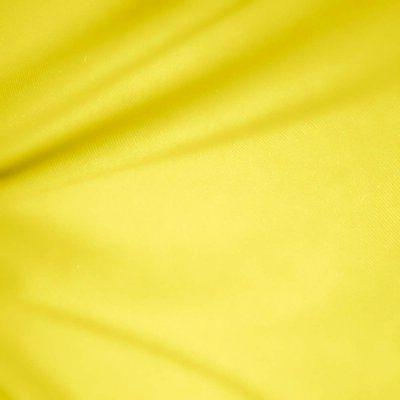 yellow wide cotton blend broadcloth