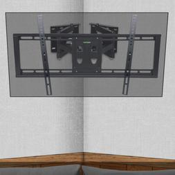 Large Flat Screen Corner TV Wall Mount Bracket dual Split Ar