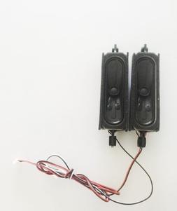 RCA LCD LED60B55R120Q TV Set of Speakers with Wire Harness -