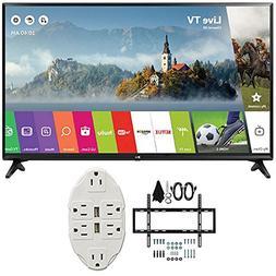 """LG 43"""" Class Full HD 1080p Smart LED TV 2017 Model  with Dec"""