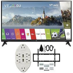 LG 55-inch Full HD Smart TV 2017 Model  with Deco Mount Slim