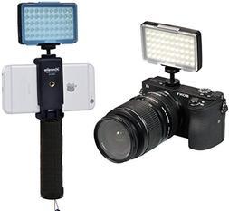 LED Video Light Commlite CM-L50 Dimmable 50 LED Ultra High P