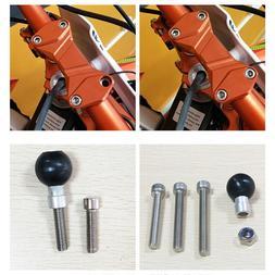 M8 Screw 55 <font><b>60</b></font> 65mm Motorcycle Handlebar
