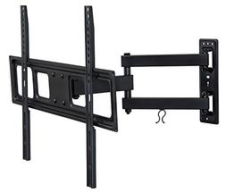 Mount-It! Articulating TV Wall Mount Arm, Fits 37-70 Inch TV