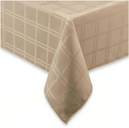 Origins™ Microfiber 60-Inch x 120-Inch Tablecloth in Beige
