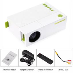 Mini Portable 24-60 inch LCD LED Proyector Projector PC Lapt