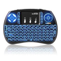 Mini Wireless Keyboard ANEWKODI 2.4G Mini Backlit Keyboard u