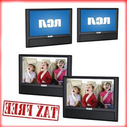 mobile car dual screen dvd player 9