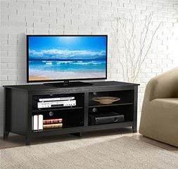 "World Pride 57"" Modern Wood TV Stand Entertainment Center Me"