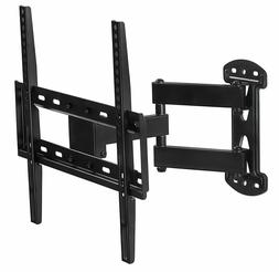 Mount-It! Full Motion TV Wall Mount Corner Bracket | Fits 32
