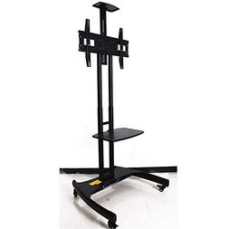Exing Movable TV Stand, Floor-Standing Height Adjustable TV