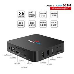MX PRO TV BOX Android 6.0 Amlogic S905X Quad Core 64bits 1gb