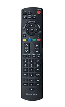 New Remote N2QAYB000485 Replaced Controller for PANASONIC Pl