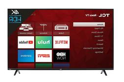 NEW TCL 50S425 50 inch 4K Smart LED Roku TV