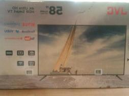 "NEW JVC 58"" Class 4K Ultra HD  HDR Smart LED TV  Top Quality"