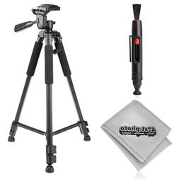 "New 60"" Inch Pro Series Heavy Duty Universal Camera Tripod w"