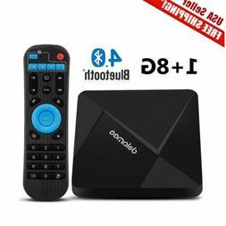 NEW DOLAMEE D5 Smart TV BOX Android 5.1 4K HD 8GB Quad Core