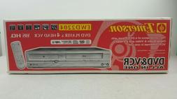 NEW Emerson EWD2204 DVD VHS Player 4 Head VCR Combo