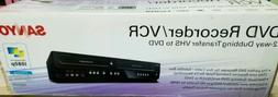 New Sanyo FWZV475F DVD Recorder / VCR Combo 2 way Dubbing Tr