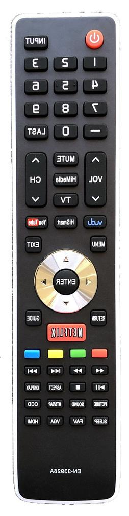 New USBRMT Hisense Replacement Remote EN-33922A for Hisense
