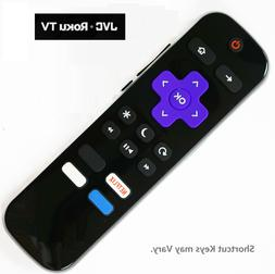 NEW IR Remote Control for JVC ROKU Built-in Smart TV