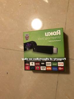 NEW Roku Media Streaming Stick 3600R HDMI with Remote - Blac