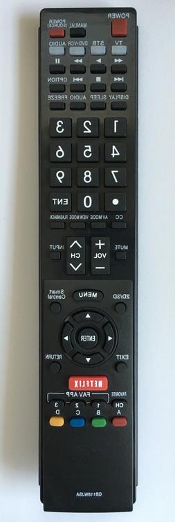 NEW USBRMT TV Remote GB004WJSA sub SHARP AQUOS TV GB005WJSA