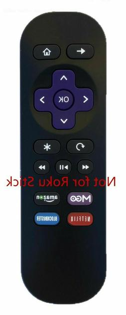 New Remote For Element Roku TV Netflix Google Play E4SW5017R