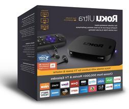 New Roku Ultra 4K/HD/HDR Streaming Media Player with JBL Hea