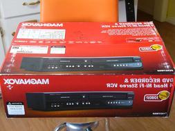 NEW Magnavox ZV427MG9 DVD Recorder VCR Combo HDMI 1080p Up-C