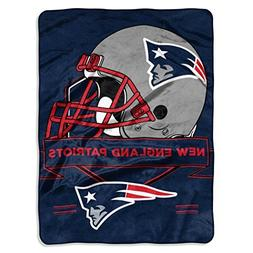 Northwest 0807 NFL New England Patriots Prestige Plush Rasch