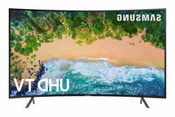 """Samsung NU7300 65"""" Curved 4K UHD HDR LED Smart TV - Charcoal"""